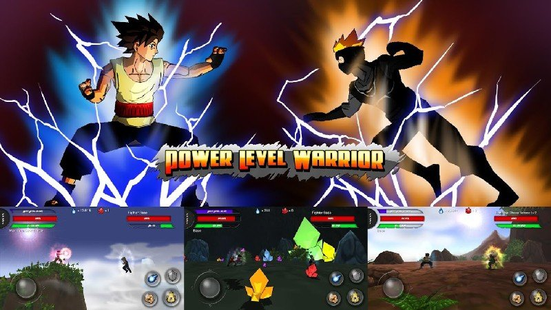 Power Level Warrior APK MOD imagen 1