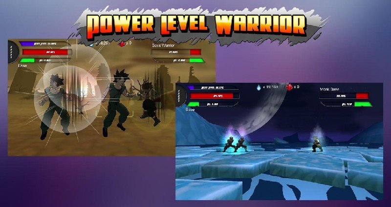 Power Level Warrior APK MOD imagen 3