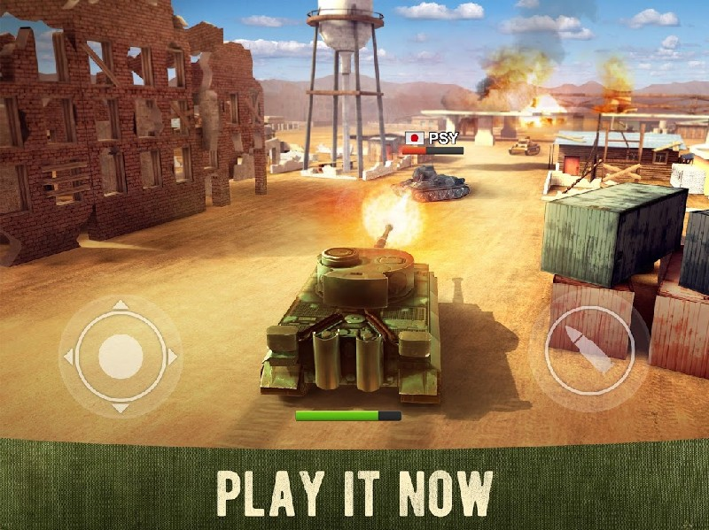 War Machines Free Multiplayer Tank Shooting Games APK MOD imagen 1