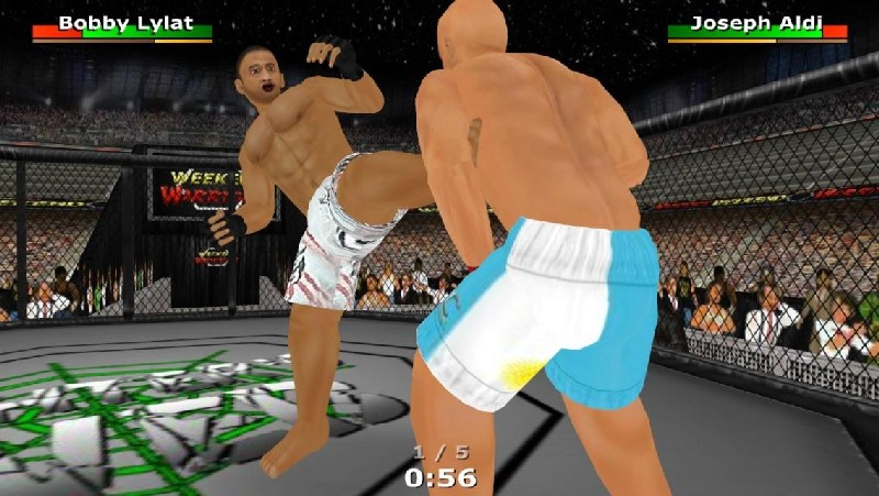 Weekend Warriors MMA APK MOD imagen 1
