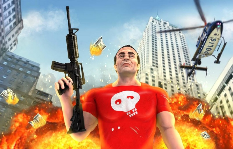 Grand Action Simulator - New York Car Gang APK MOD imagen 1
