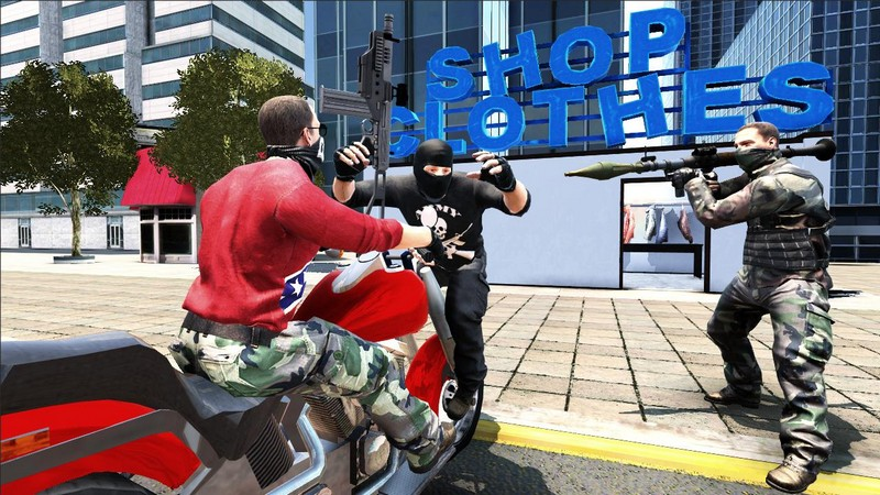 Grand Action Simulator - New York Car Gang APK MOD imagen 3