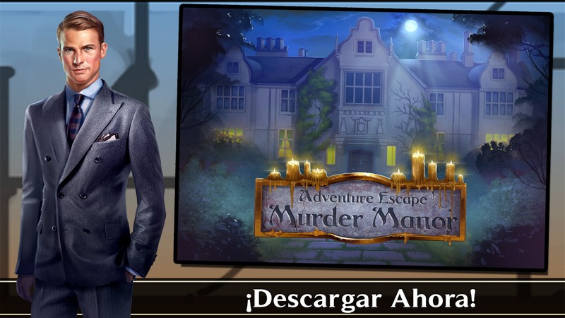 Adventure Escape Murder Manor APK MOD imagen 5