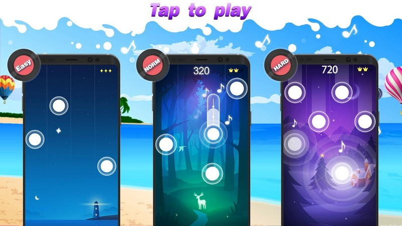 Magic Piano Tiles 2018 APK MOD imagen 4