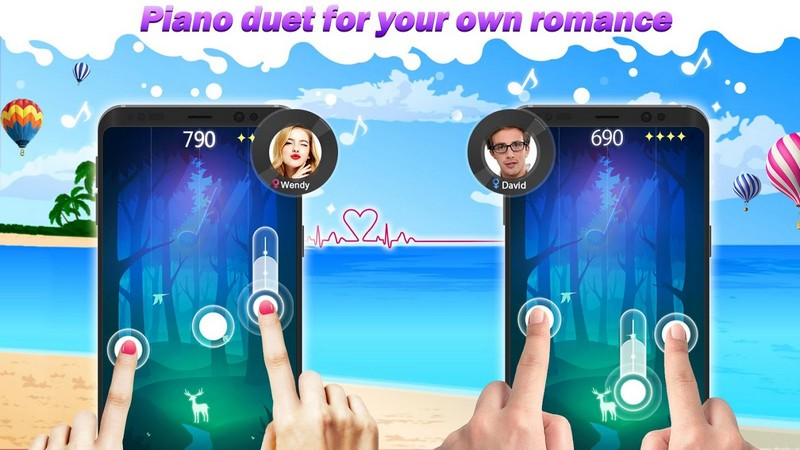 Magic Piano Tiles 2018 APK MOD imagen 5