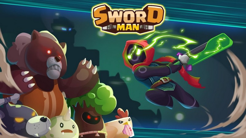 Sword Man - Monster Hunter APK MOD imagen 1