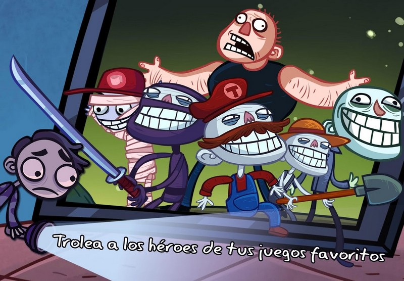 Troll Face Quest Video Games APK MOD imagen 2