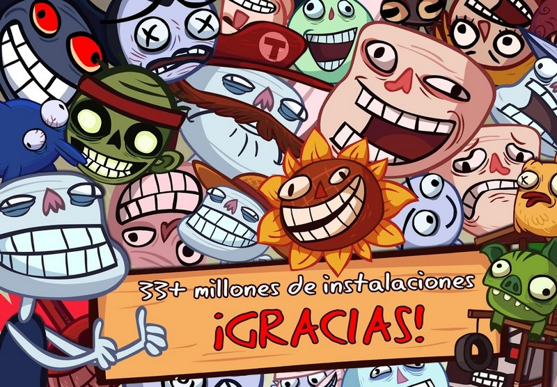 Troll Face Quest Video Games APK MOD imagen 5