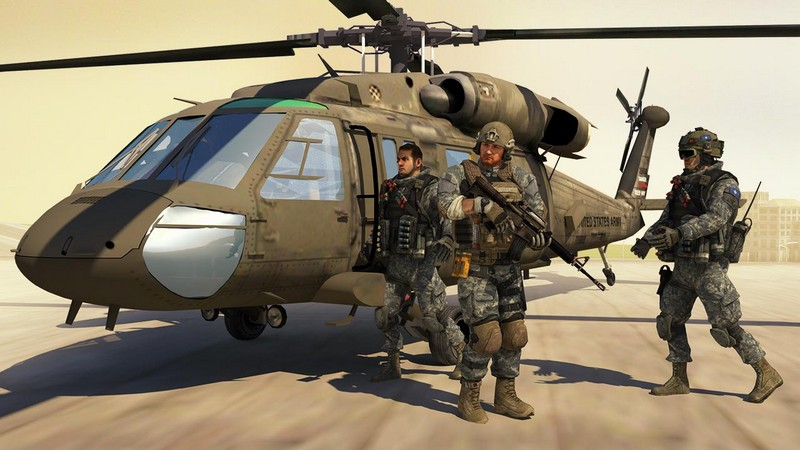 Air Force Shooter 3D - Helicopter Games APK MOD imagen 2