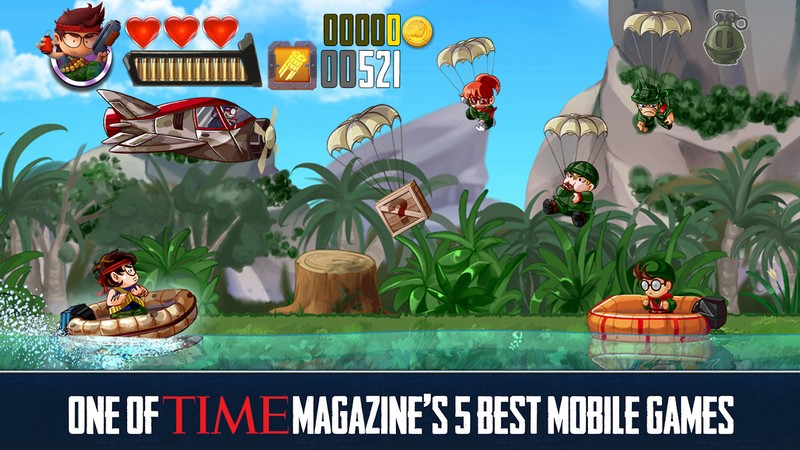 Ramboat Shoot and Dash APK MOD imagen 1