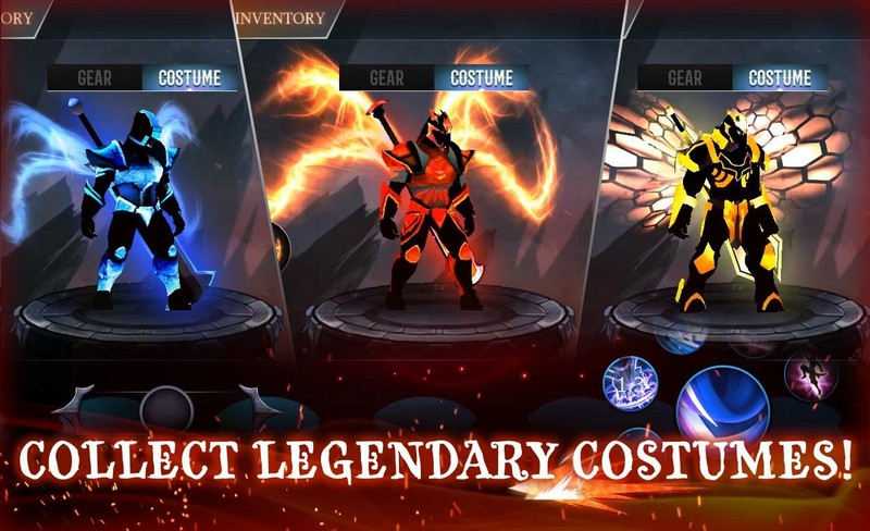 Shadow Fight Heroes - Dark Knight Legends Stickman APK MOD imagen 1