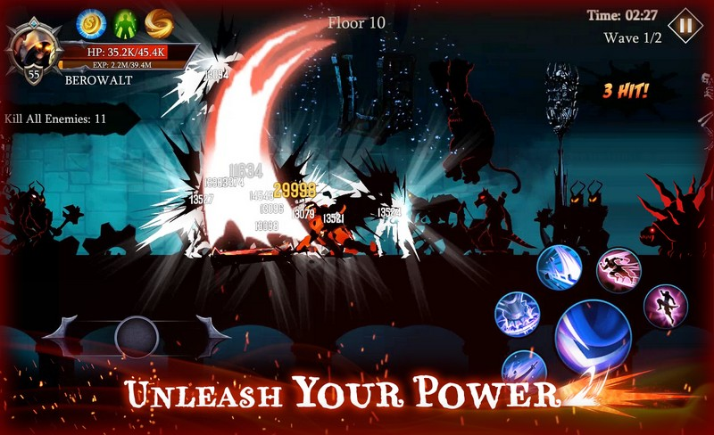 Shadow Fight Heroes - Dark Knight Legends Stickman APK MOD imagen 4