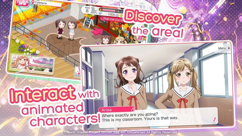BanG Dream! Girls Band Party! APK MOD imagen 3