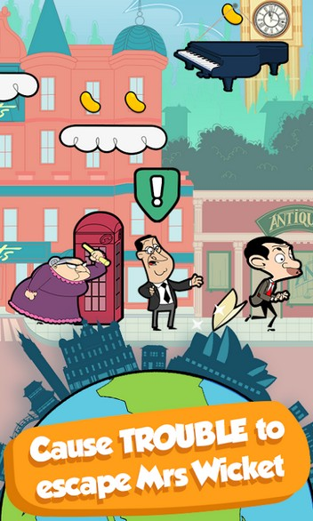 Mr Bean - Around the World APK MOD imagen 1