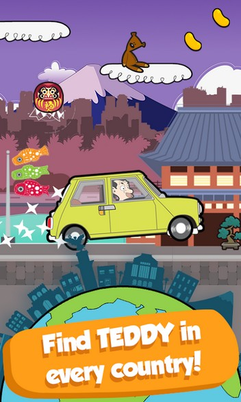 Mr Bean - Around the World APK MOD imagen 4