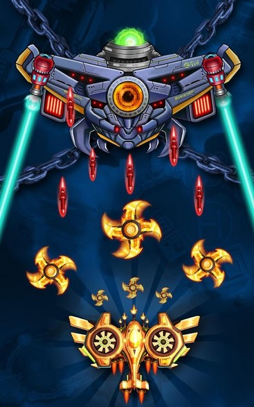 Space Squad Galaxy Attack of Strike Force APK MOD imagen 2