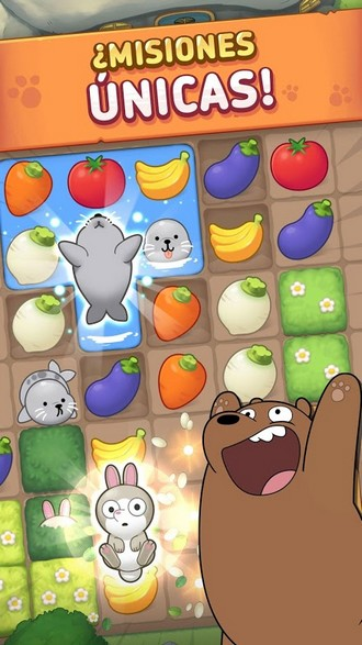 We Bare Bears Match3 Repairs APK MOD imagen 2