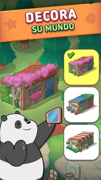 We Bare Bears Match3 Repairs APK MOD imagen 3