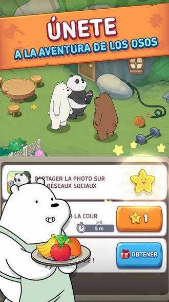 We Bare Bears Match3 Repairs APK MOD imagen 4
