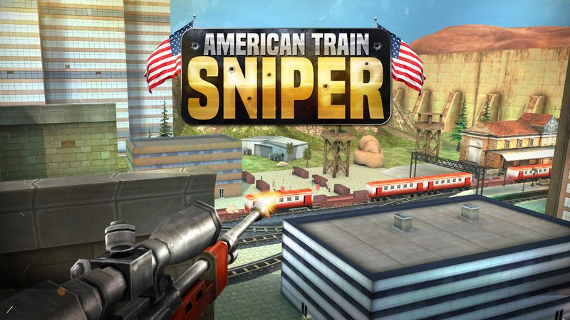 Sniper 3D Train Shooting Game APK MOD imagen 1