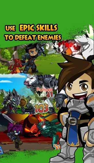 Battle Gems (AdventureQuest) APK MOD imagen 2