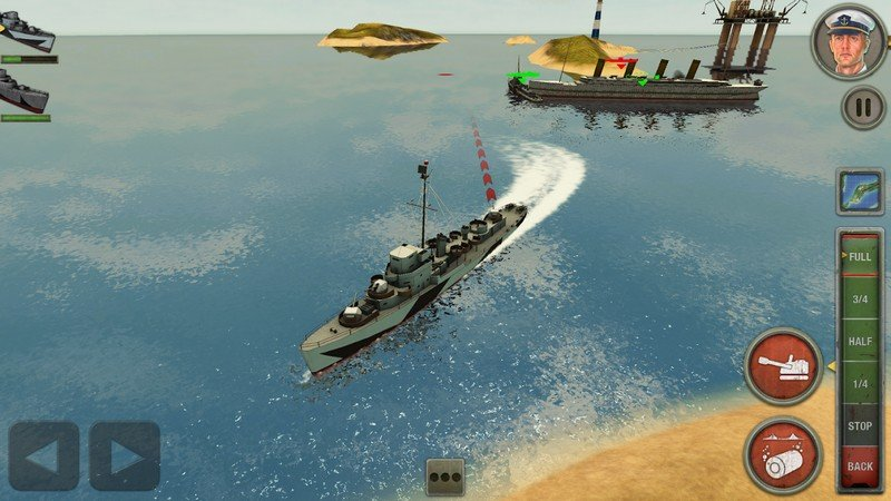 Enemy Waters Submarine and Warship battles APK MOD imagen 3