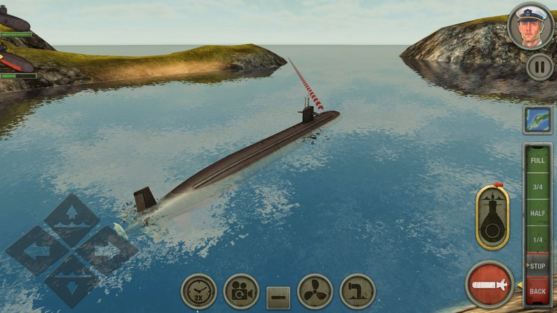 Enemy Waters Submarine and Warship battles APK MOD imagen 4