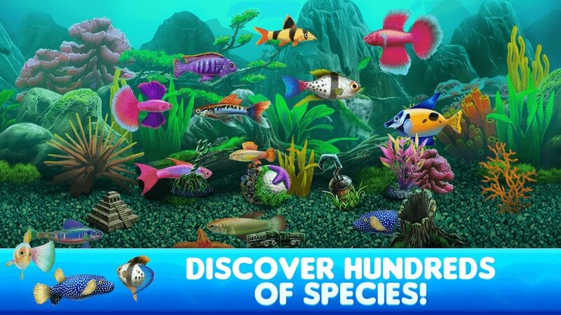 Fish Tycoon 2 Virtual Aquarium APK MOD imagen 2