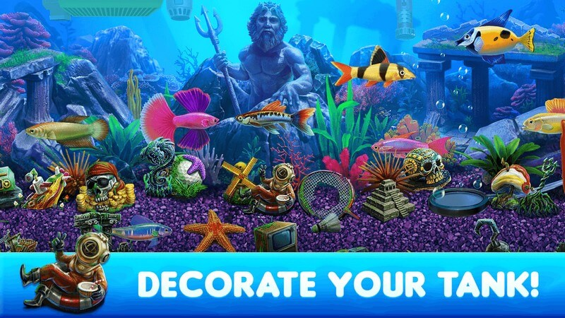 Fish Tycoon 2 Virtual Aquarium APK MOD imagen 3
