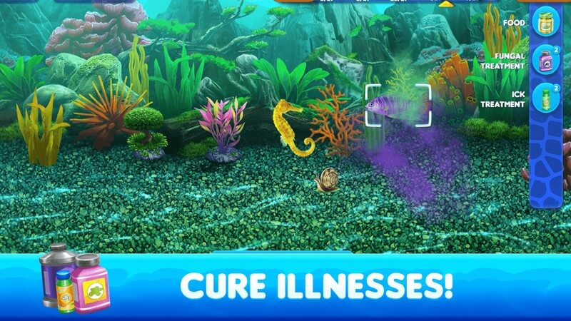 Fish Tycoon 2 Virtual Aquarium APK MOD imagen 4