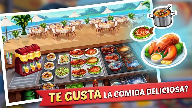 Kitchen Craze - Master Chef Cooking Game APK MOD imagen 2