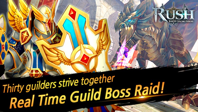 RUSH Rise up special heroes APK MOD imagen 3