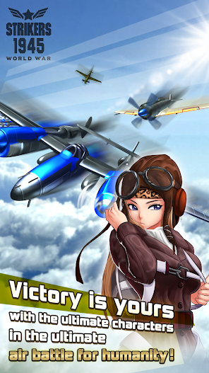 STRIKERS 1945 World War APK MOD Imagen 2