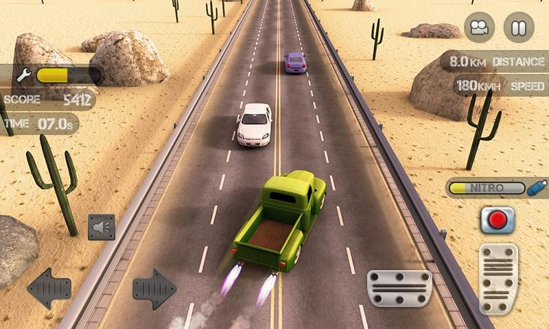 Race the Traffic Nitro APK MOD imagen 2