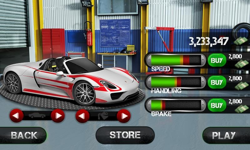 Race the Traffic Nitro APK MOD imagen 3