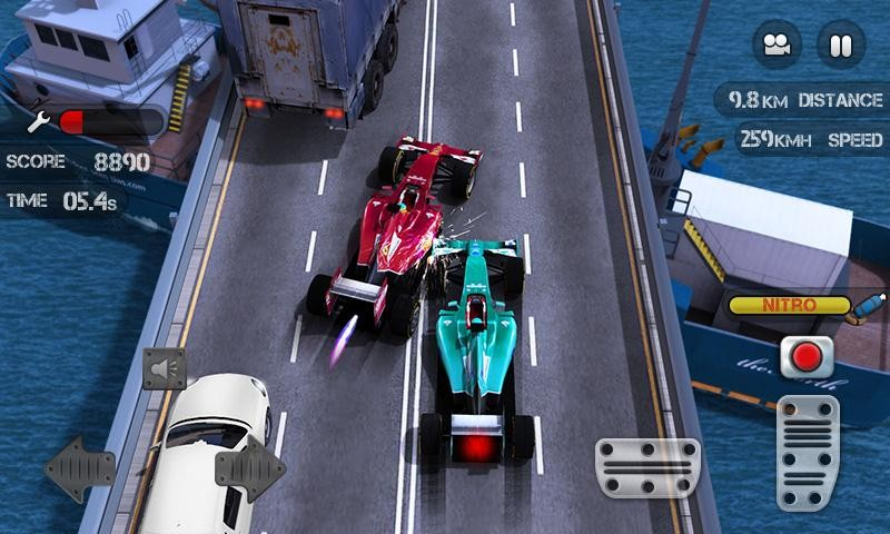 Race the Traffic Nitro APK MOD imagen 5