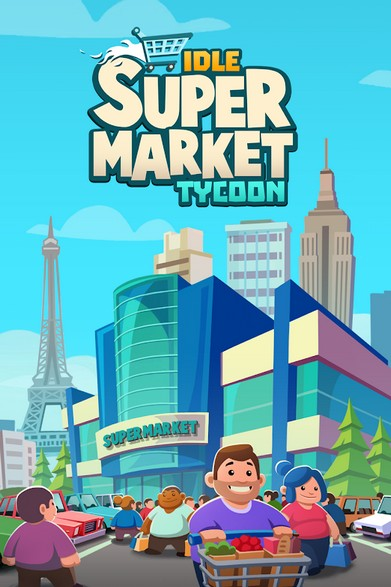 Idle Supermarket Tycoon - Tiny Shop Game APK MOD imagen 1