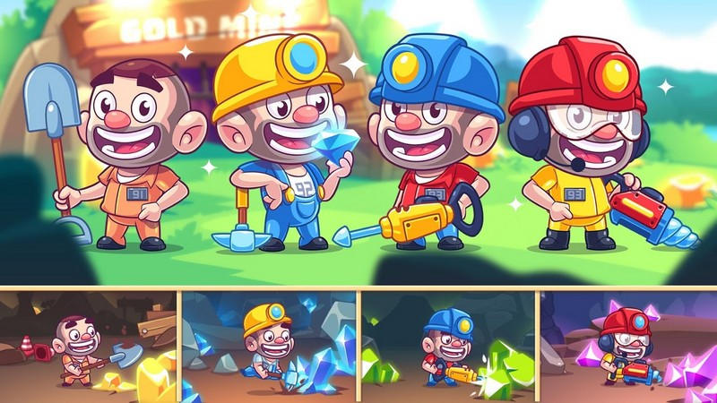 Idle Prison Tycoon - Mine & Crafting Building City APK MOD imagen 2
