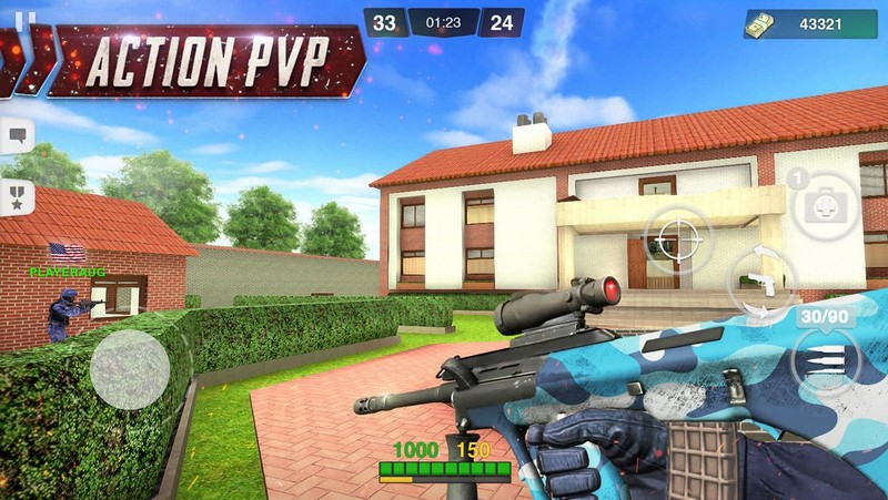 Special Ops Gun Shooting - Online FPS War Game APK MOD imagen 1