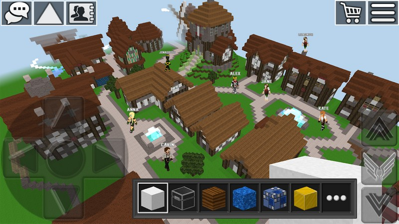 WorldCraft 3D Build & Craft APK MOD imagen 1