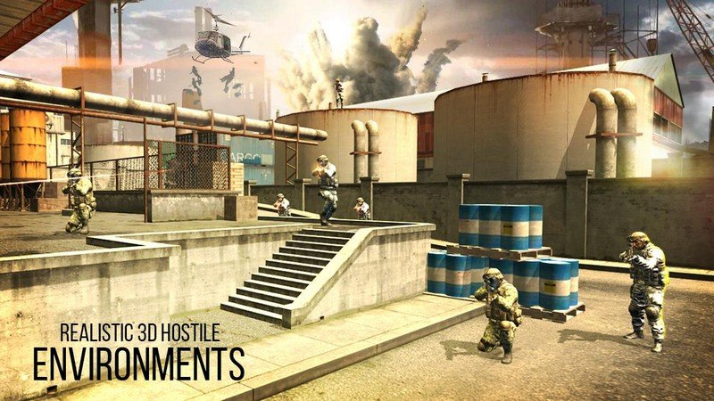 Mission Counter Attack APK MOD imagen 1