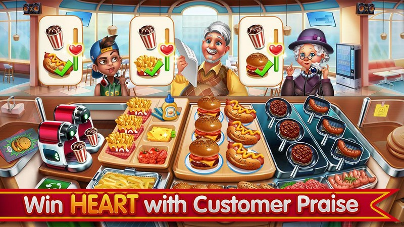 Cooking City - crazy restaurant game APK MOD imagen 2