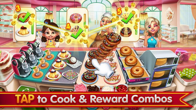 Cooking City - crazy restaurant game APK MOD imagen 3