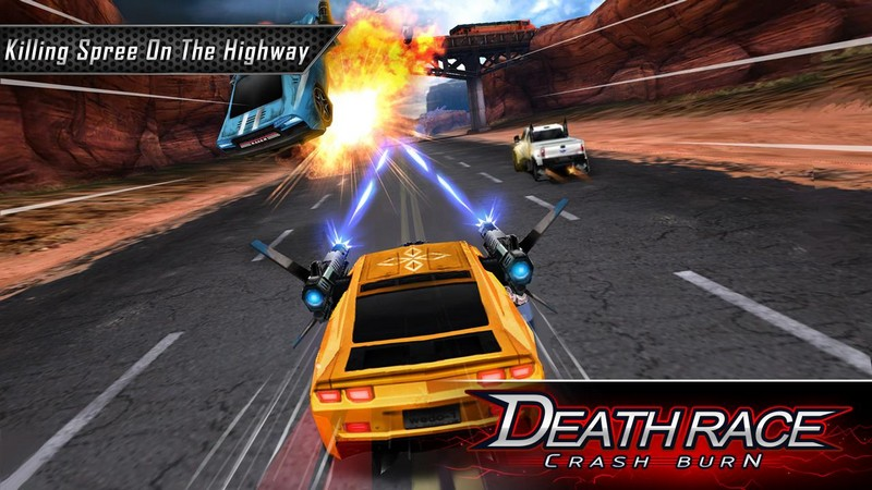 Death Race Crash Burn APK MOD imagen 1