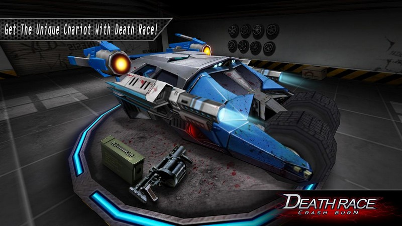 Death Race Crash Burn APK MOD imagen 2