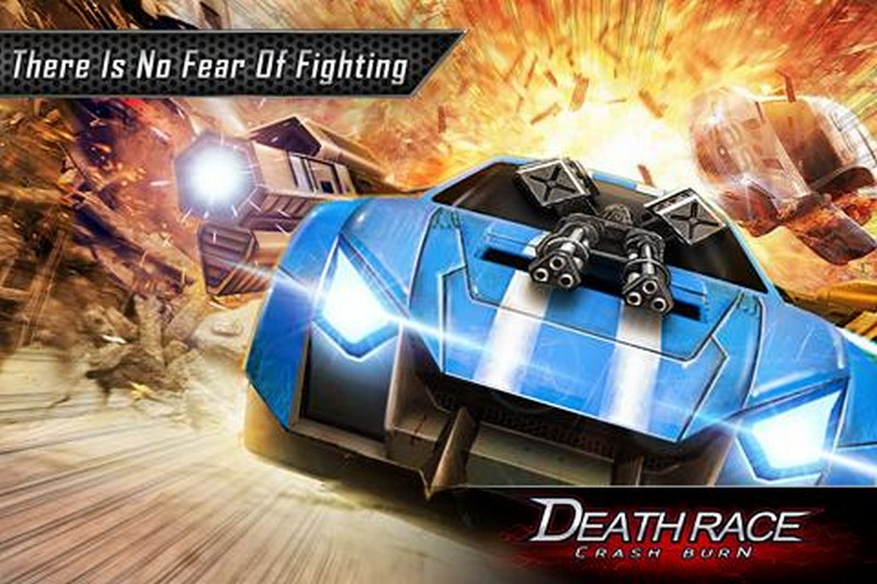 Death Race Crash Burn APK MOD imagen 3