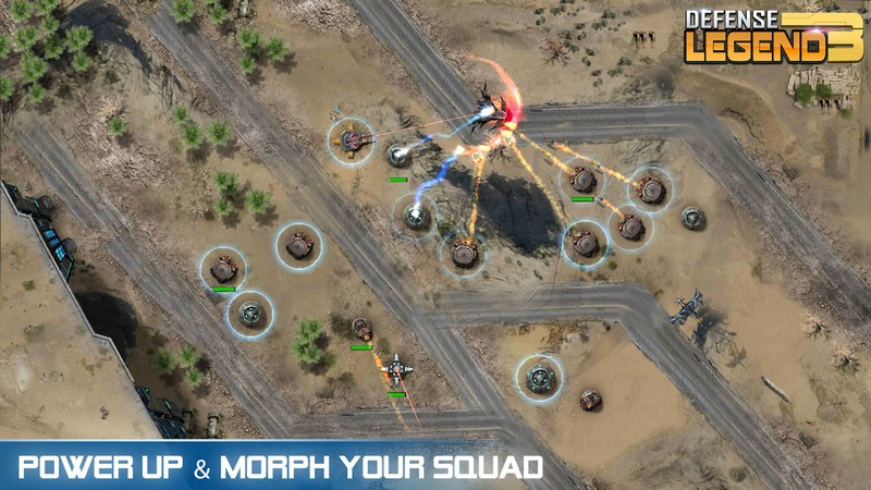 Defense Legend 3 Future War APK MOD imagen 2