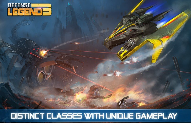 Defense Legend 3 Future War APK MOD imagen 3
