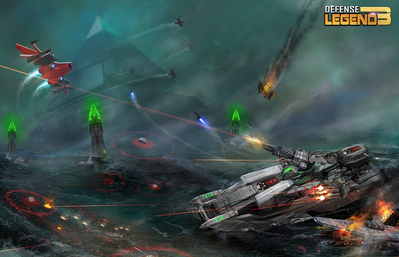 Defense Legend 3: Future War APK MOD v2.6 (Dinero infinito) 1