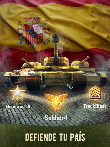 War Machines Tank Shooter Game APK MOD imagen 2